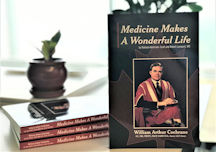 "Book cover of ""Medicine Makes A Wonderful Life"""